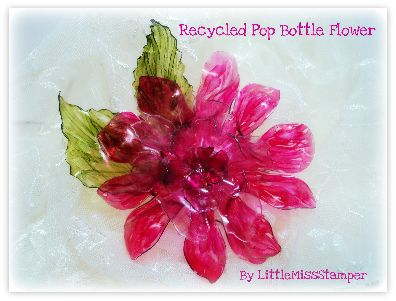 Recycled Pop Bottle Flower