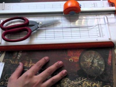 Scrapbooking 101 Beginner tools needed to start scrapbooking.