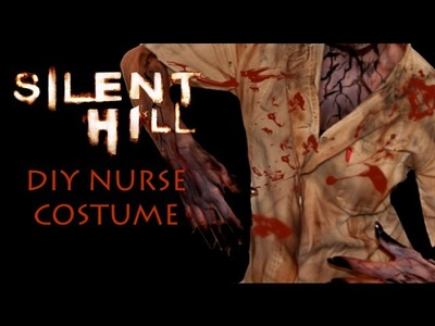 Silent Hill Nurse Costume DIY Tutorial (EASY)
