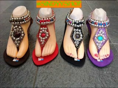 Sindyyshop Bali Beads Sandal Shoes New Design 2013