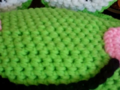 Tutorial Monday! How to Crochet a Froggy Beanie. (Part 5 and final)