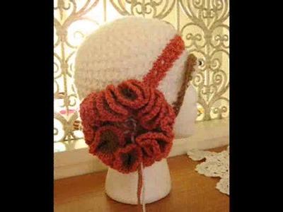 Vintage Crochet Cloche Hats