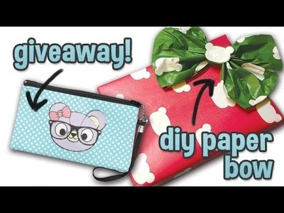 [ZAZZLE] DIY Wrapping Paper Bows + GIVEAWAY! [CLOSED]