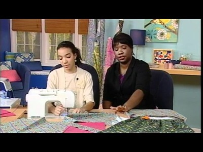 304-3 Sheree & Leah Schattenmann create simple skirts for every age on It's Sew Easy