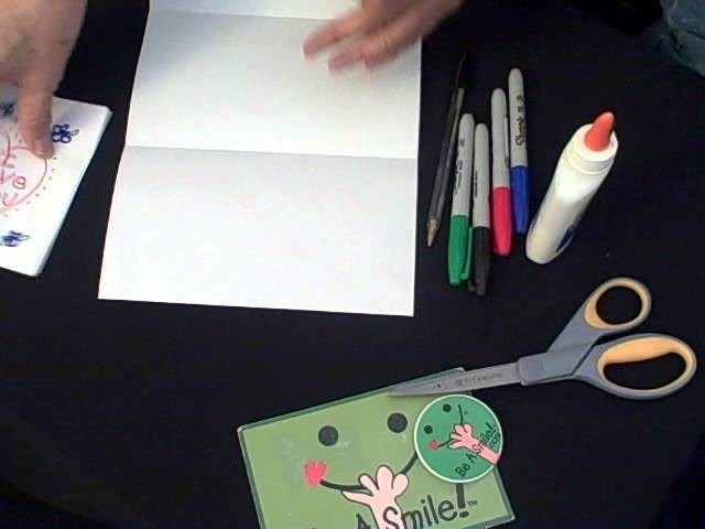 Be A Smile: How To Make a Greeting Card and Envelope