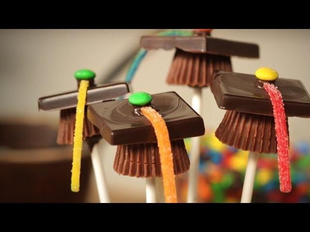 Chocolate Graduation Caps | Just Add Sugar