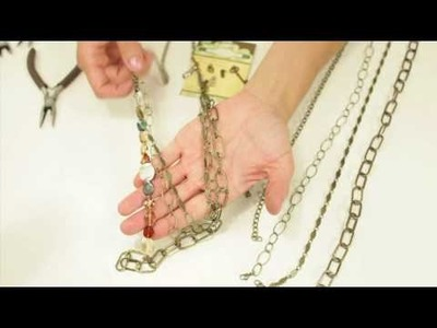 Combining Chains to Create a Chunky Necklace