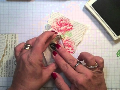 Creating wtih Kimberly-Working with Gesso