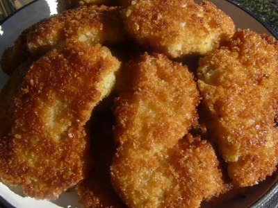 Crispy Fried CHICKEN TENDERS - How to make FRIED CHICKEN TENDERS Recipe