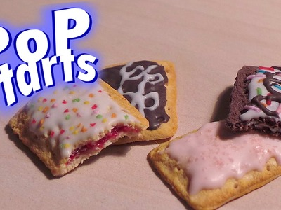 Cute Polymer Clay Pop Tarts - Tutorial