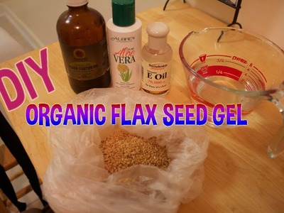 DIY Organic Flax Seed Gel (All-Natural Alternative To Hair Gel)
