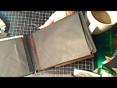 Duct Tape Mini Binding.  My version.