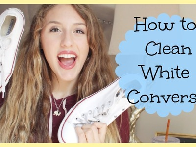 Easy Life Hack: How to Clean White Converse!