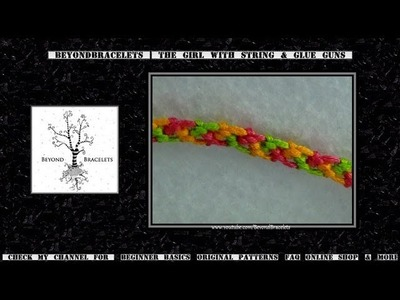 ► Friendship Bracelet Tutorial - Beginner - Random