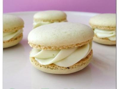 Green Tea Macaron Recipe. How to Make French Macarons