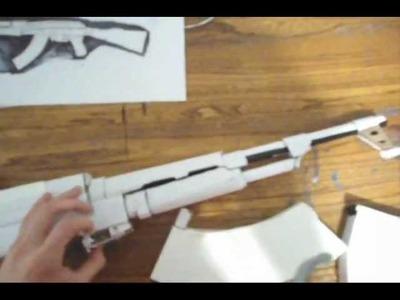 **Homemade Cardboard.Paper Ak-47**