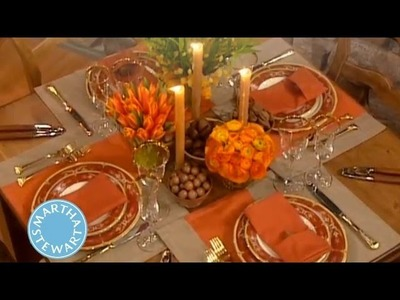 How to Create Two Thanksgiving Centerpieces | Thanksgiving Decorations | Martha Stewart