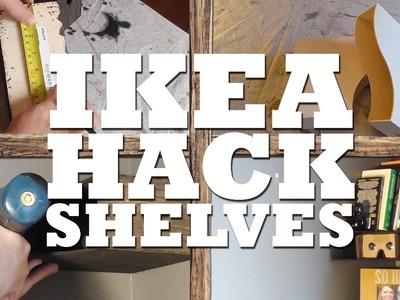 How to Hack Ikea Shelves