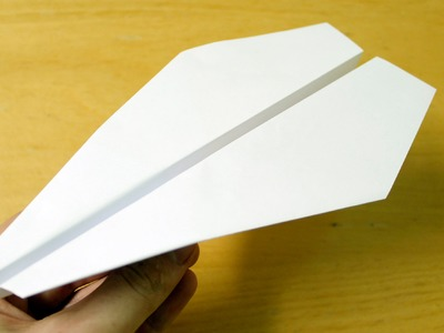 How to make a Easy Paper Airplane that Flies Far