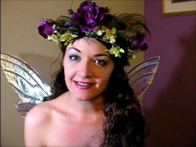 How to Make a Flower Fairy Wreath or Crown