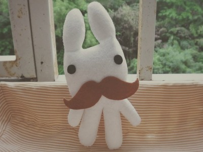 How To Make A Kawaii Gentleman Bunny Plushie Tutorial