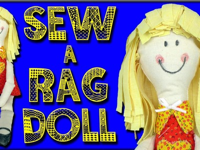 How To Make a Rag Doll - For Beginners