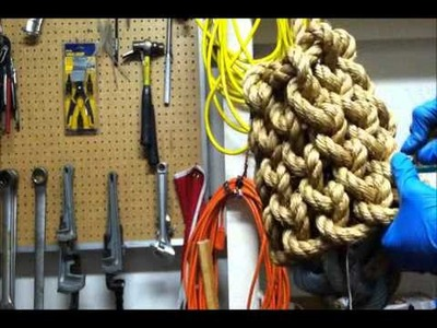 How to make a Rope fender
