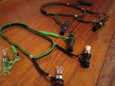 How To Make A Waterfowl Call Lanyard 3.3