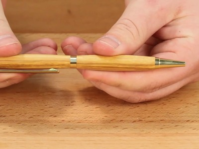 How to Turn a Pen