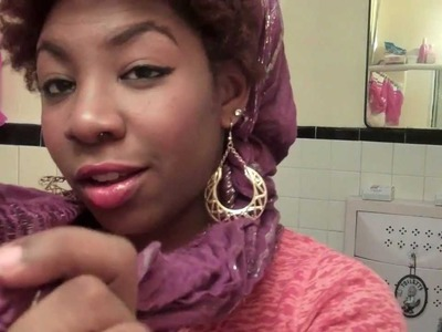 How To Wear Scarfs & Hats with Natural Hair