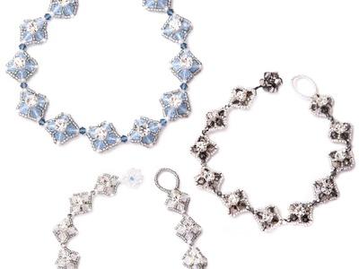 Kleshna Jewellery Making Kit Tutorial Roaring 20s Bracelet