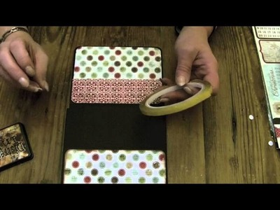 """Lets Make"" Series 2 part 1 Large Christmas Wallet photo album"