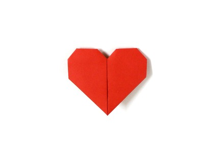 Lovely Paper Heart Made Easy. How To Make A Paper HeaRt.Love Sign