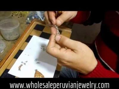 Making Handmade Peruvian Jewelry Part II - Wholesale Peruvian Jewelry