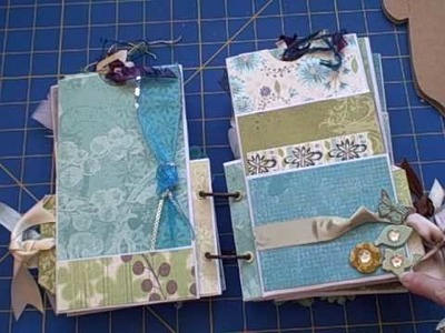 Mini long envelope album