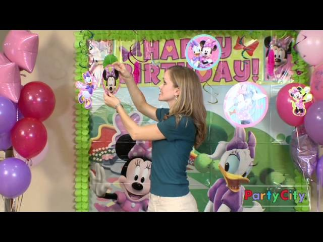 Minnie Mouse Birthday Party Ideas from Party City