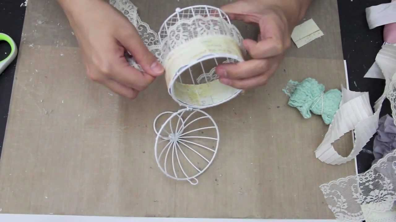 Prima Divine Bird cage tutorial.