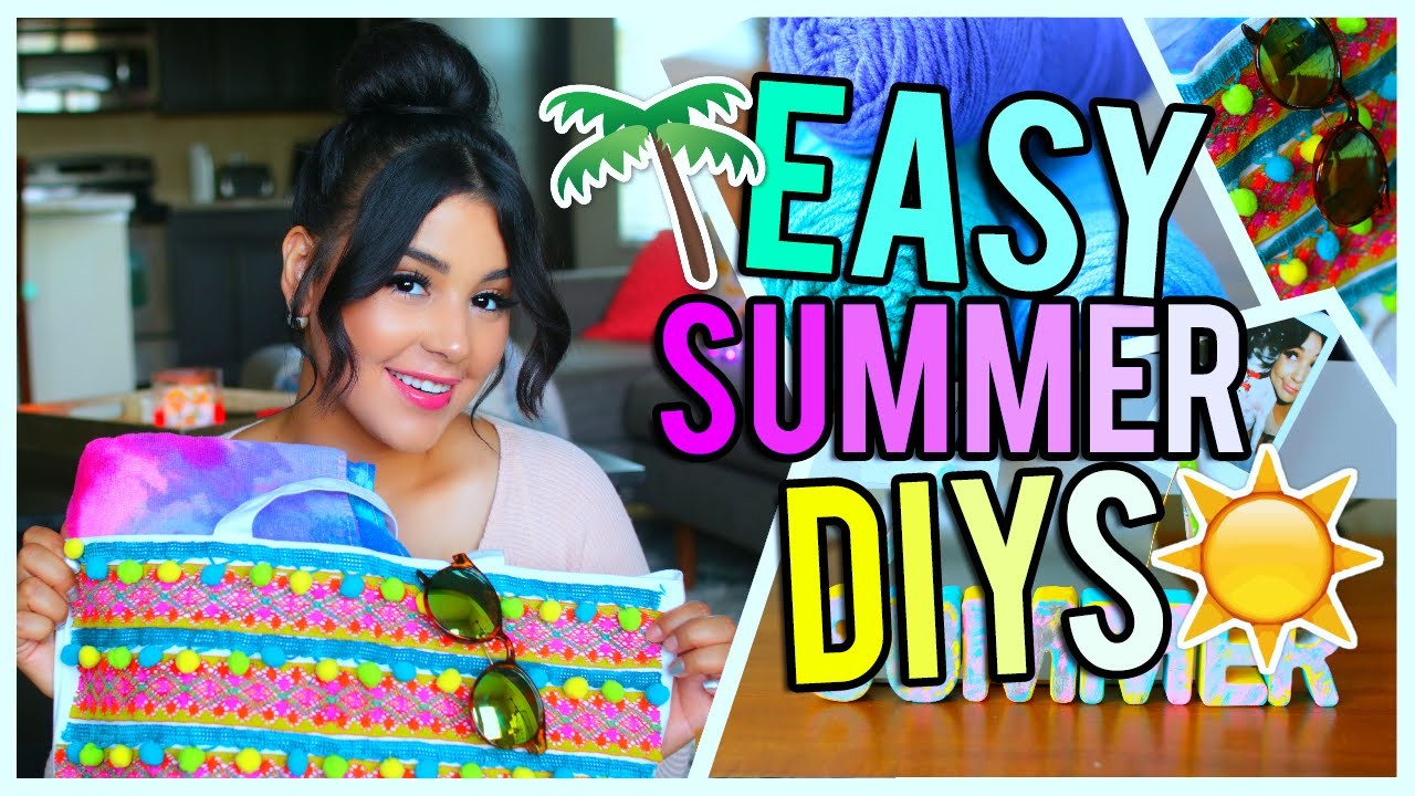 Quick & Easy Summer DIY Projects & Decorations!