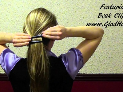 Quick and Easy Hair Styles with Beak Clips