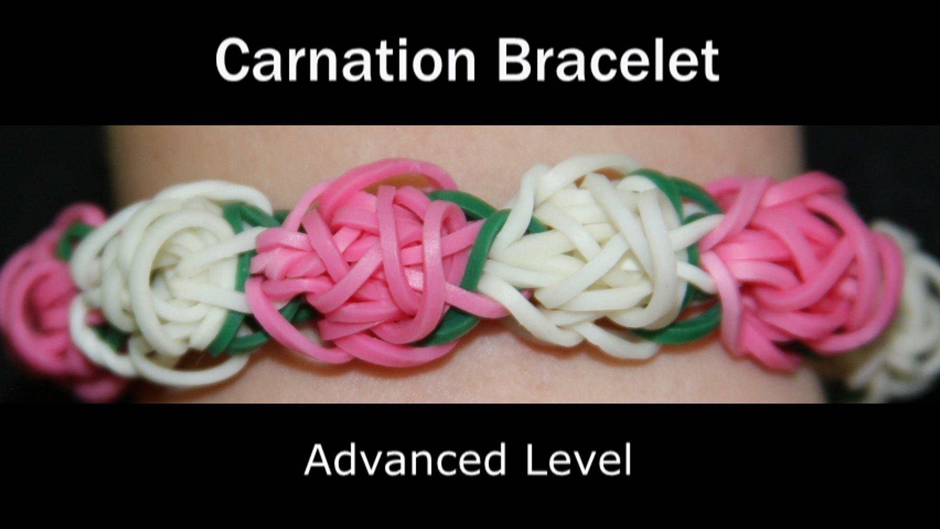 Rainbow Loom® Carnation Bracelet