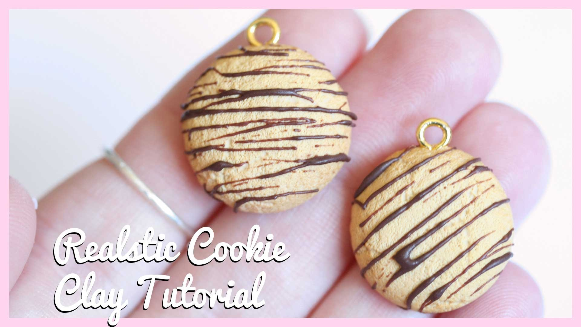 Realistic Cookie ● Polymer Clay Charm Tutorial