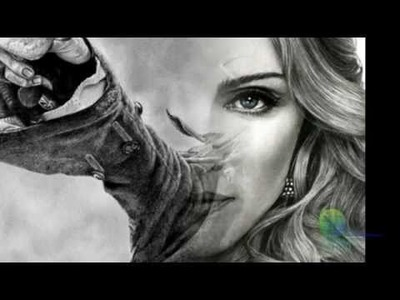 Realistic Pencil Portraits.And Learn to Draw People step by step