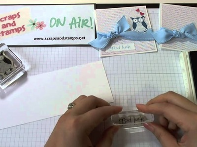 Stampin' Up! Tutorial - Owl Punch Card - Scraps & Stamps