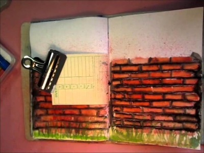 The Wall - Art Journaling