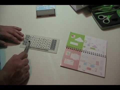 Video #3 ~ ::Cricut:: How to Number Your Handbook to match  your overlay