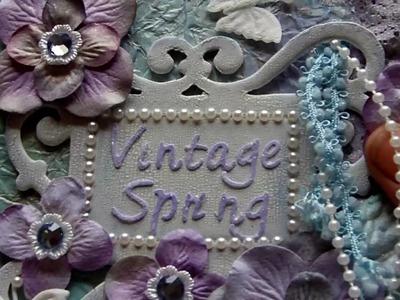 Vintage Spring Mini Book. Album - Part 1