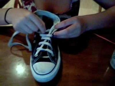 2 ways to tie your converse