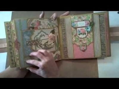 8x8 Graphic45 Botanical Tea Mini-Album