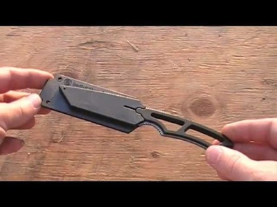 Adjustable Paracord Neck Knife Lanyard - How To