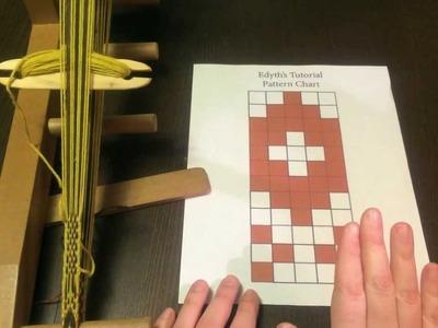 Baltic-Style Pick-Up Inkle Weaving Tutorial